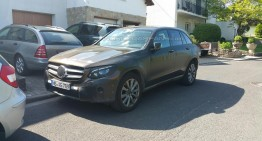 Worldcarfans.com reader catches a Mercedes-Benz GLC