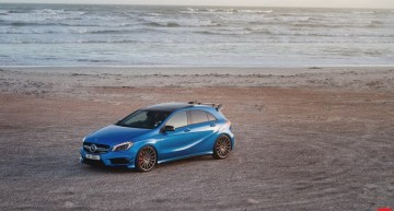 A 45 AMG – the power beauty running on Vossen wheels