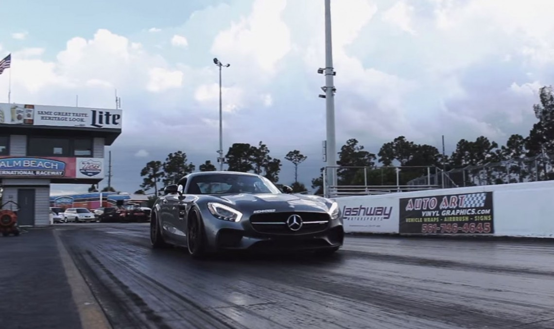 Mercedes-AMG GT S becomes a 10 seconds car