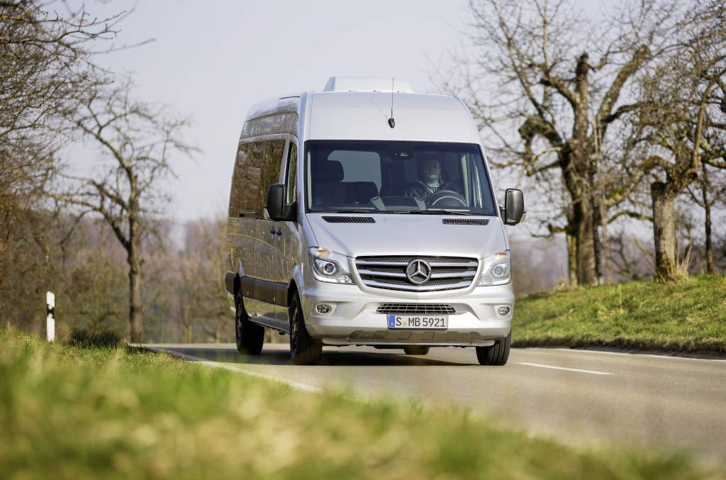 Mercedes-Benz celebrates the 20th anniversary of the Sprinter
