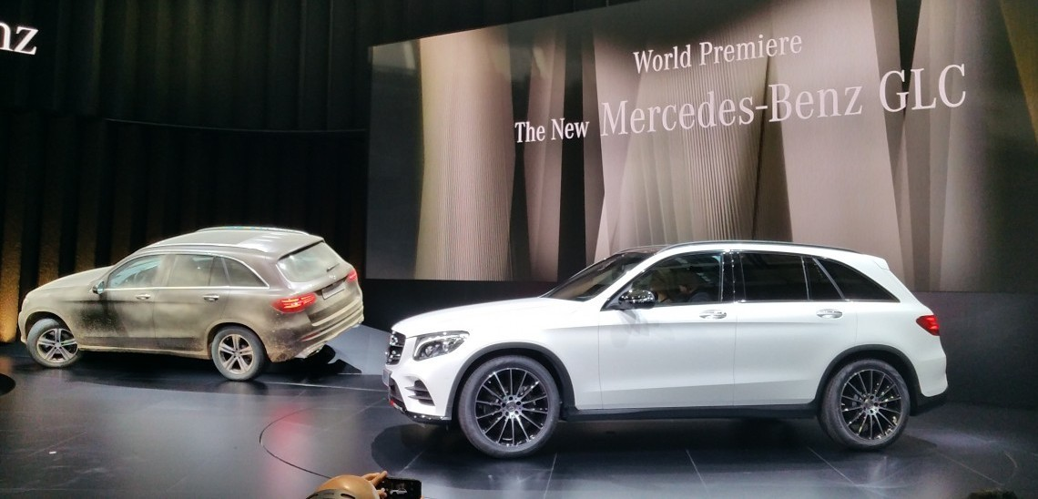 Live Report Mercedes Benz Glc Is Here Full Details