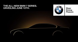 The new BMW 7-Series launch confirmed for June 10th