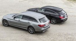 STYLE or SUBSTANCE? Mercedes-Benz CLA 220 CDI Shooting Brake vs C 220 BlueTec T-Modell