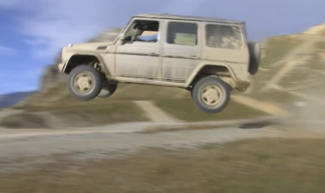 The G-Class slam dunk. No special effects!