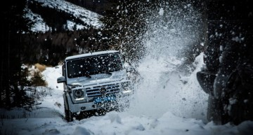 Drive your dreams across the world in a G-Class