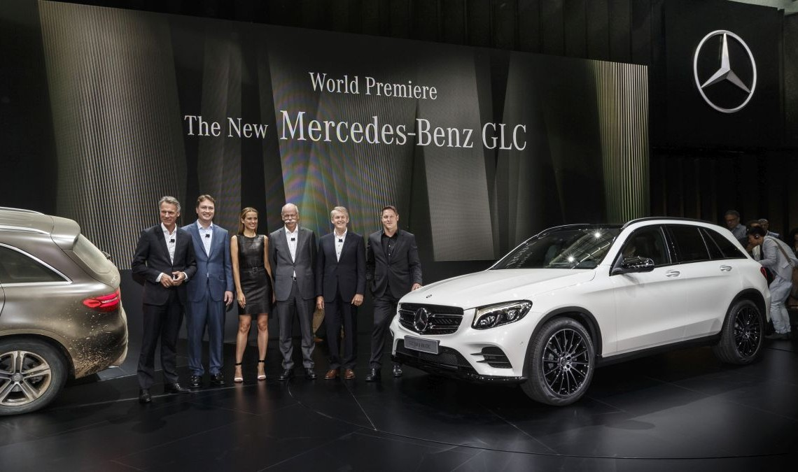 Mercedes-Benz GLC LIVE. Statements from the official launch