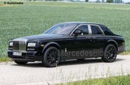 Project Culinnan. First-ever Rolls-Royce SUV spied again