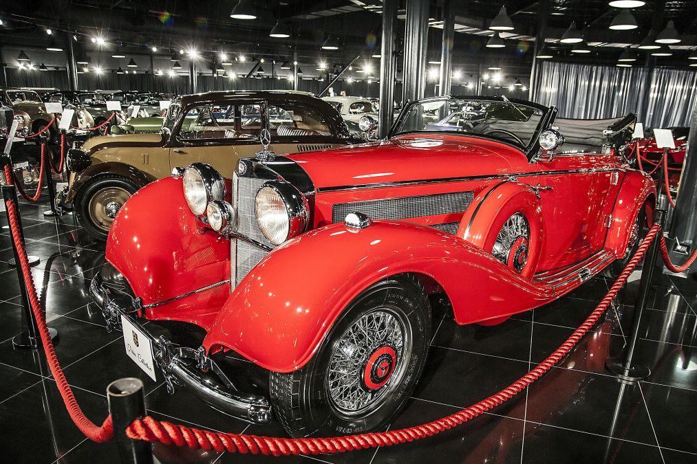 Tiriac collection Mercedes 540K 2
