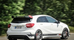 A 45 AMG made by Renntech: Not a jet, but a car yet!