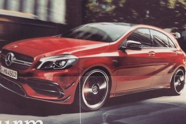 WORLD-FIRST. Mercedes-Benz A 45 AMG facelift uncovered