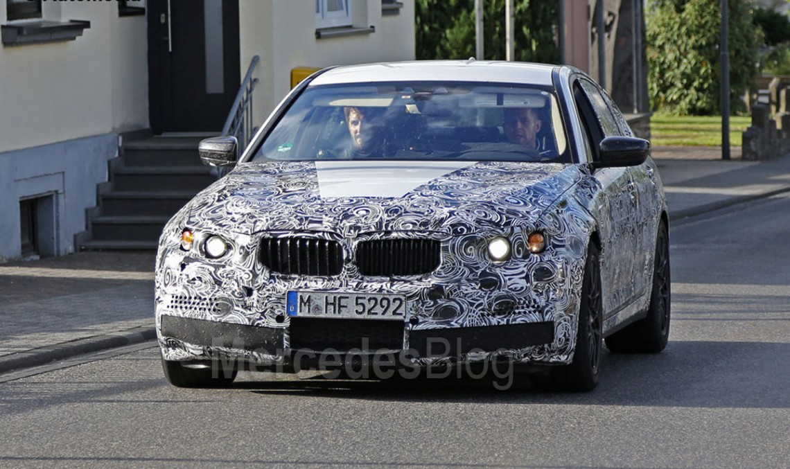 First spy shots of the future BMW M5, Mercedes-AMG E 63 rival