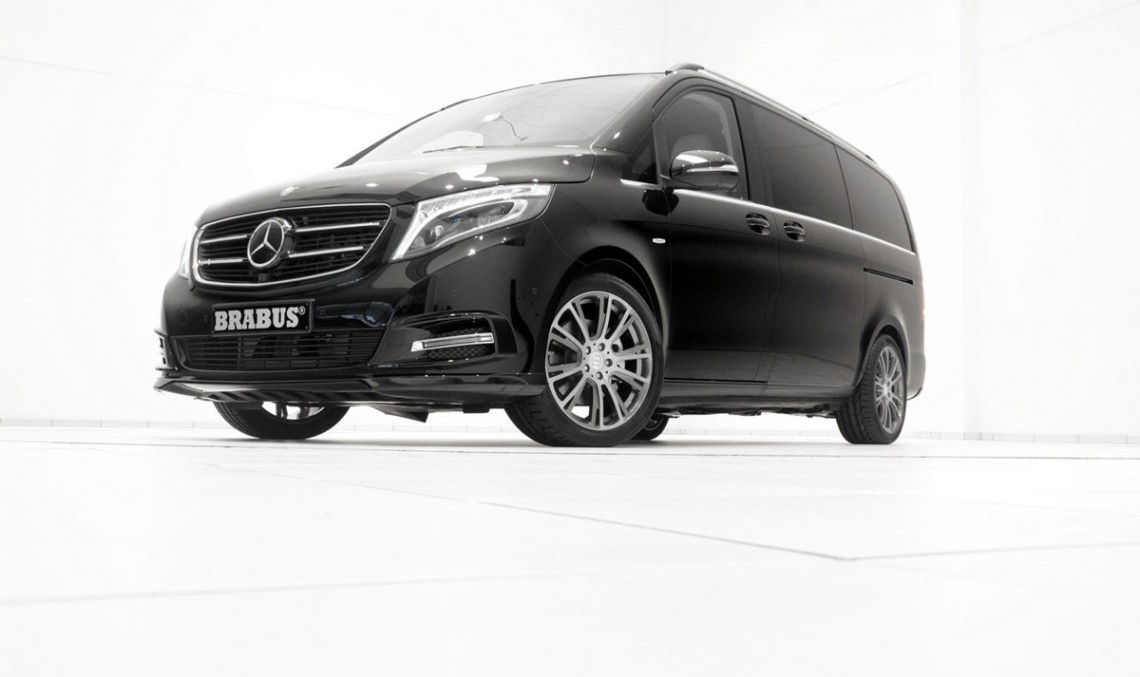Mild (by BRABUS standards) tuning for the Mercedes-Benz V-Class