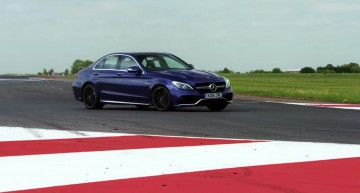 EVO do what we'd all like to: take the C 63 S and M3 on a track