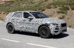 Jaguar F-Pace prepares to challenge the GLC – new spy pics