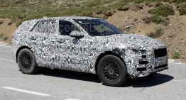 Jaguar F-Pace prepares to challenge the GLC – new spy pics
