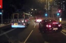 Nissan GT-R tried to kill the C-Class. Twice (video)