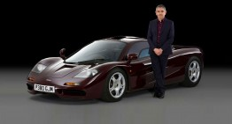 Mr. Bean trades its beloved McLaren F1 for a SLS AMG