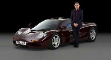 Mr. Bean trades its beloved McLaren F1 for a SLS AMG