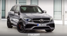 How would a hotter Mercedes-Benz GLC 63 AMG look like?