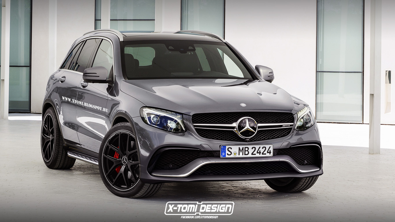 Mercedes Benz Dealership >> How would a hotter Mercedes-Benz GLC 63 AMG look like? - MercedesBlog