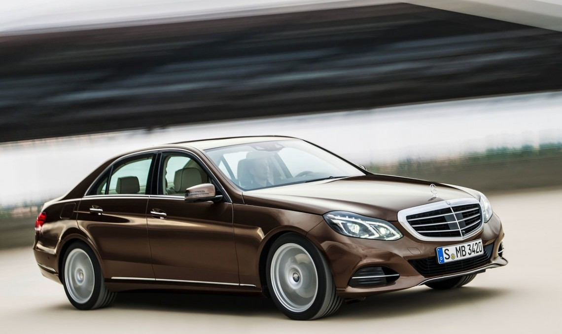 The E-Class, now highest volume Mercedes-Benz of all time