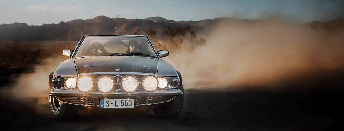 King of the desert: Mercedes-Benz 500 SL