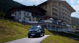 The family holiday in a Mercedes-Benz V-Class