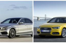 The new Audi A4 vs Mercedes C-Class