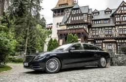 Mercedes-Maybach S 500 review. Super luxury vs little Peles Castle