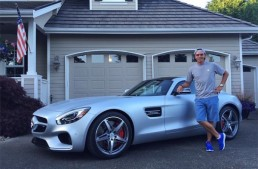Pro golfer buys Mercedes-AMG GT S