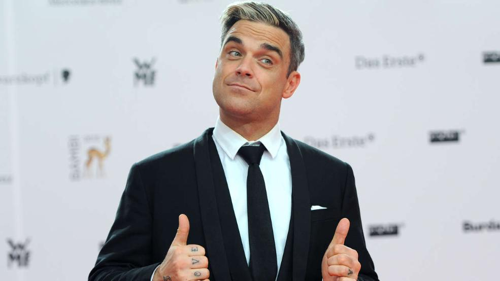 Robbie Williams could work for Mercedes-Benz