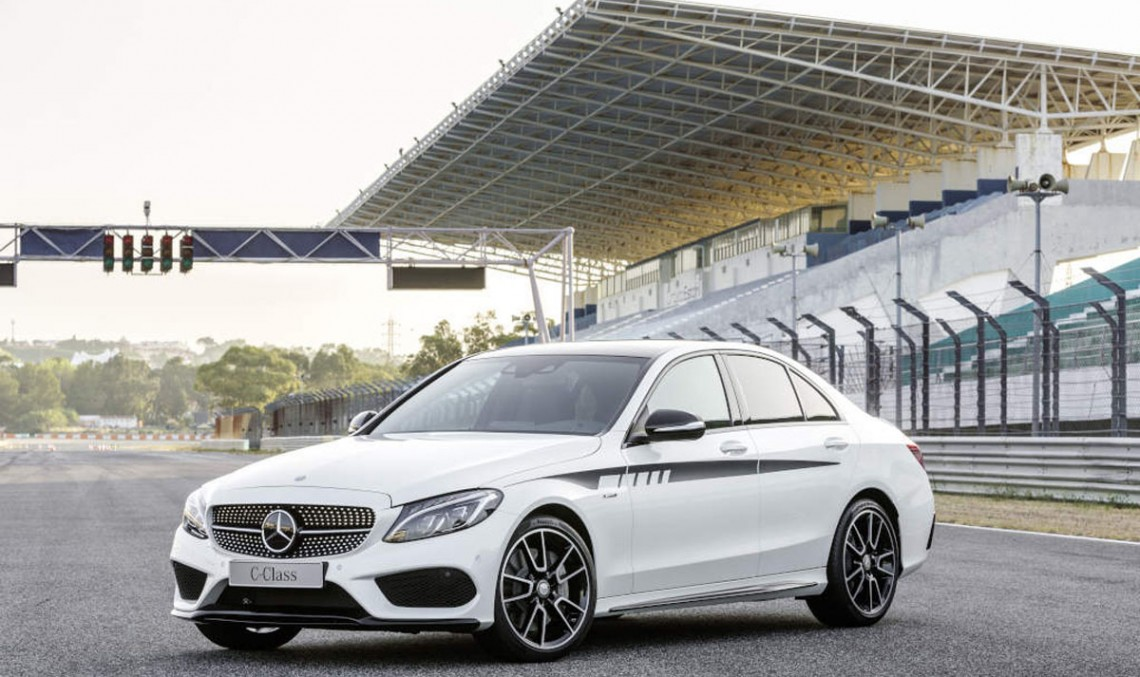 Exclusive AMG Accessories for the C-Class are available