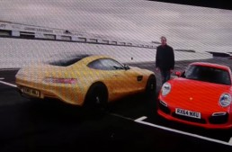 Team Clarkson returns with Mercedes AMG GT – 911 – Z01 fight