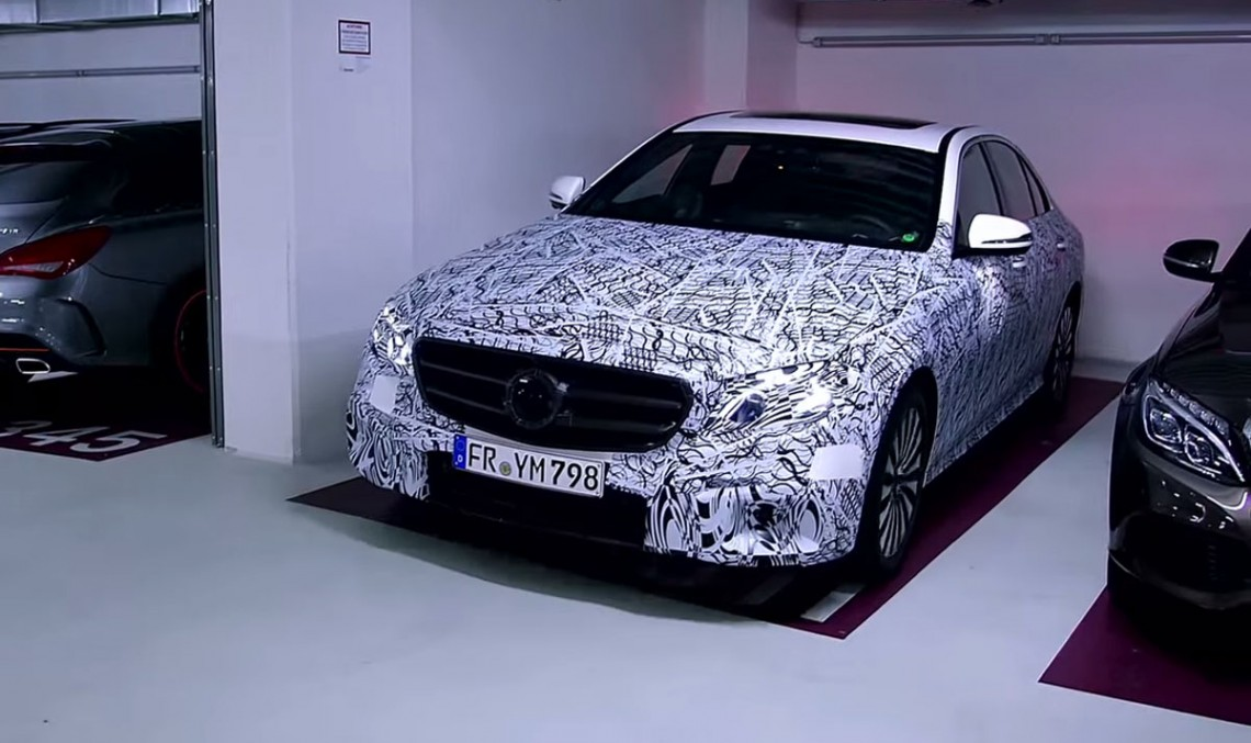 Video: details on the technology inside the new E-Class