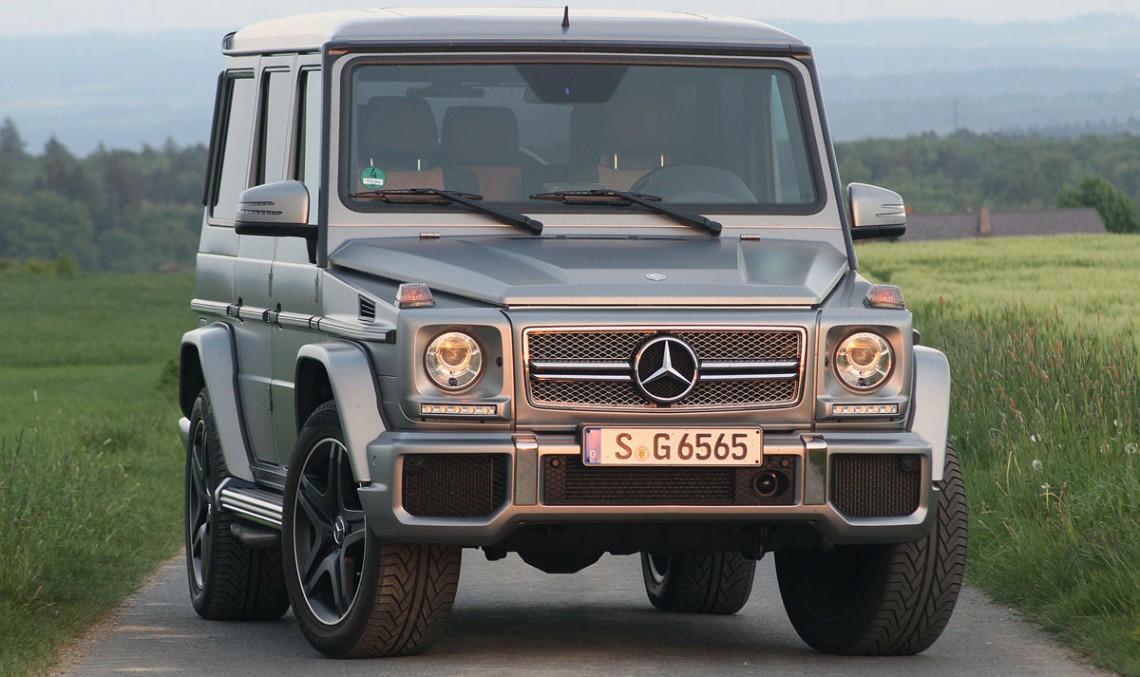 Autoblog reviews the 2015 Mercedes-Benz G 65 AMG