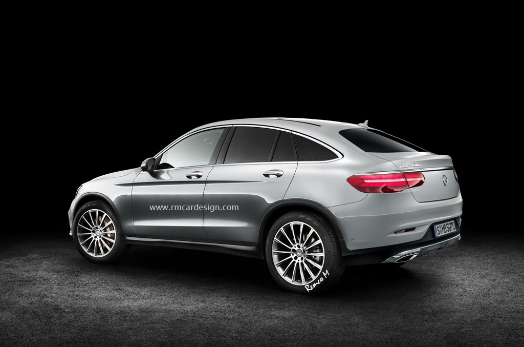 Production Mercedes Benz Glc Coupe Is Here New Renders