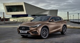 No more Mercedes platforms for compact Infiniti