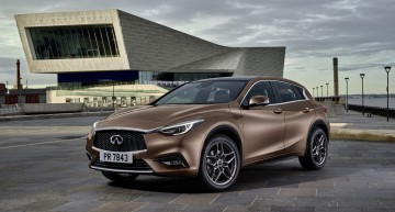 Infiniti Q30. The Japanese A-Class is heading to Frankfurt