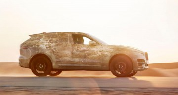 GLC has met its match! Jaguar F-Pace teased ahead of Autumn launch