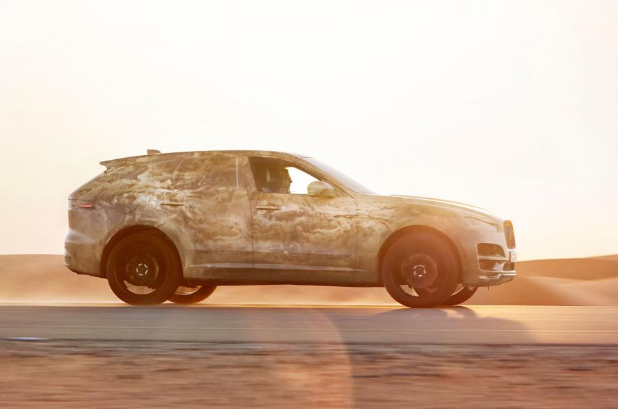 GLC has met its match! Jaguar F-Pace teased ahead of Autumn launch