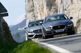 New faces in the mid-size segment: Jaguar XE versus C-Class