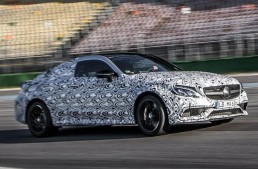 Mercedes-AMG C 63 Coupe teased in fresh official pictures