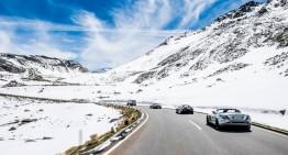 Sky-high drive in the McLaren-Mercedes SLR