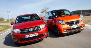 AMS pits the smart Forfour against an unlikely rival