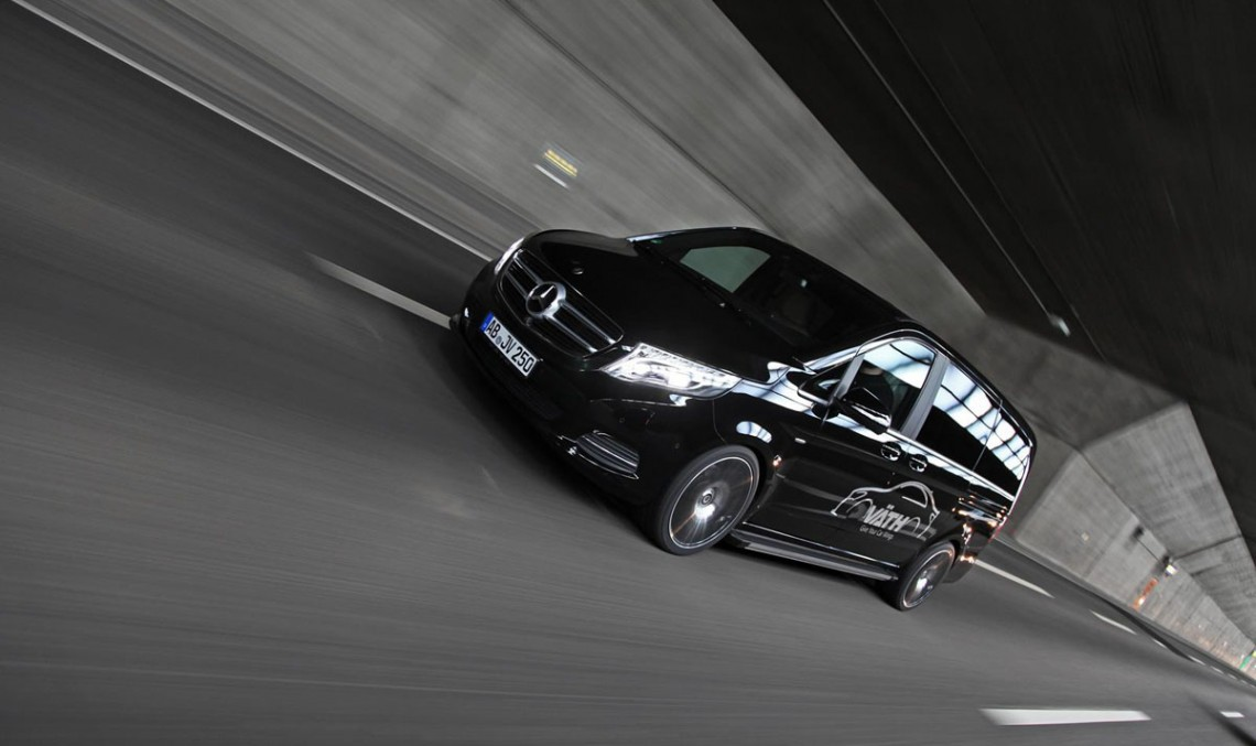 VATH gives the Mercedes-Benz V-Class more power