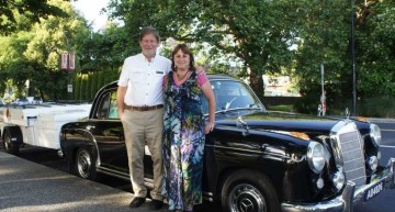 Around the world in five years in a vintage Mercedes-Benz