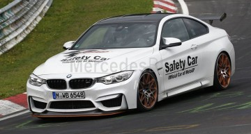 BMW M4 GTS undisguised. Mercedes-AMG C 63 S Coupe killer comes out to fight