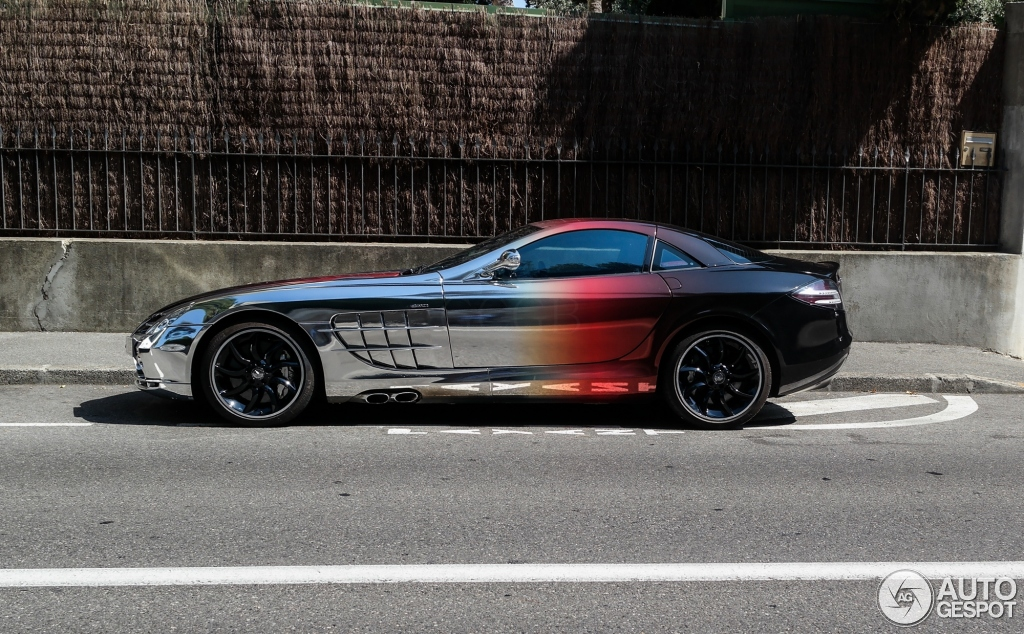 The curious case of a Mercedes SLR