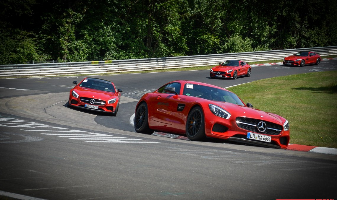 The AMG Driving Academy – Set the racetrack on fire!