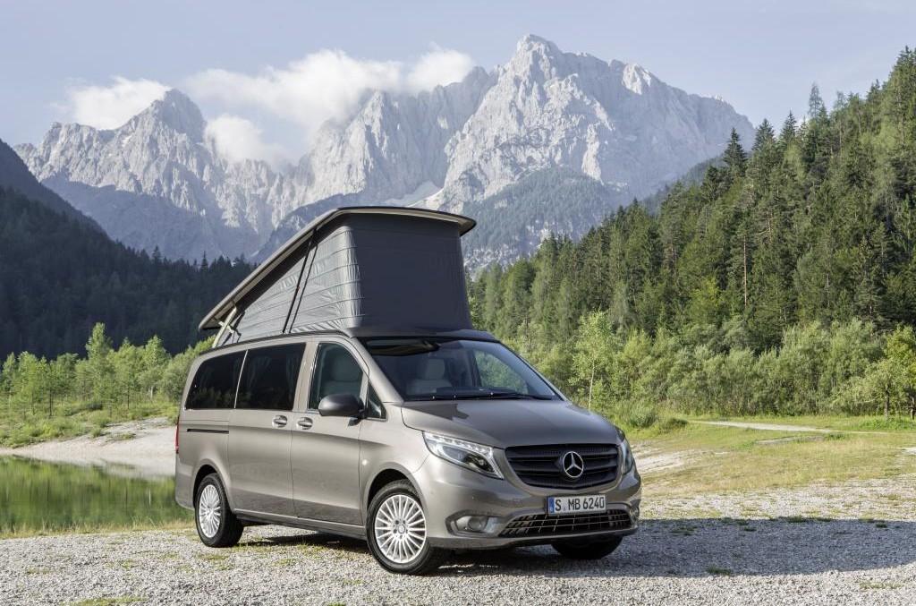 2015 Caravan Salon: the Mercedes-Benz vans are built for success